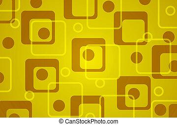 Retro background - A colorful fun retro background