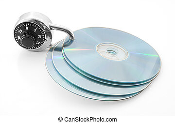 Secure discs - Combination lock and discs