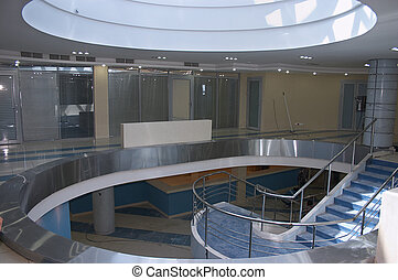 Office atrium - Atrium of new bank office
