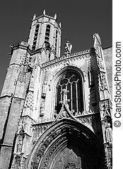 Aix-en-provence #11 - The Cathedrale Sainte Sauveur in...