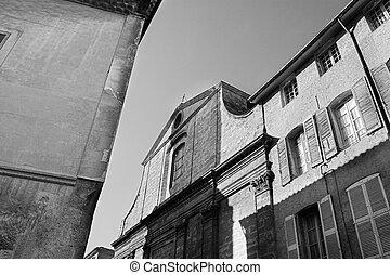 Aix-en-provence #22 - Old building in Aix-en-provence,...