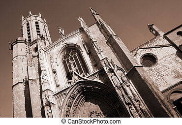 Aix-en-provence #6 - The Cathedrale Sainte Sauveur in...