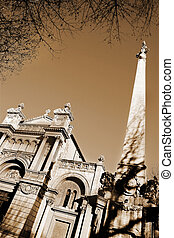 Aix-en-provence #71 - The church of the Madeleine in...