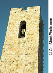 Antibes #128 - Tower with a clock in Antibes, France.
