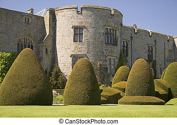 Castle - A castle with topiary