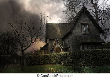 Haunted House #3 - Haunted house in London