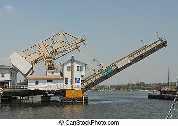 Drawbridge - Mystic River Drawbridge