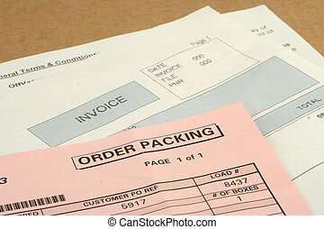 package - invoices for received package