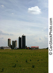 Architecture of Farm - A farm near Dorchester Ontario from...