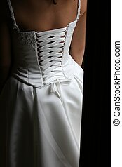 Wedding Dress from the back