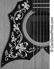 acoustique, guitare, 1