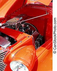 motore, arancia