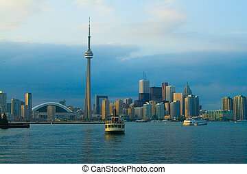 Landmarks - travelling around the world. Toronto.