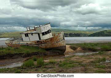 Shipwreck 2 - Pt Reyes, Calif
