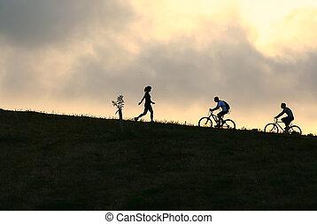 Montaña, Bikers