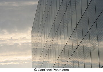 Business building - The convergence between nature and...