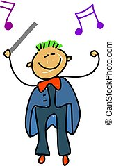 conductor kid - i want to be an orchestra conductor when i...