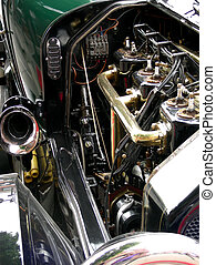 Engine Without Peer - Antique car engine