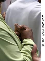 Praying - Muslim praying