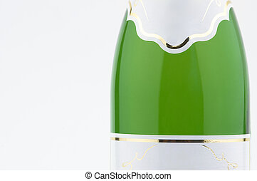 champagne - bottle of champagne in close up