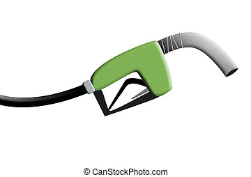 Gas Pump - an illustration of a gas pump