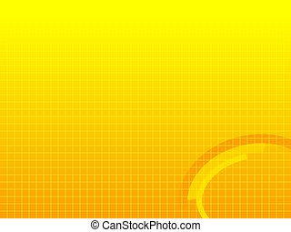 Graphic background 4 - Yellow background with crosshatched...