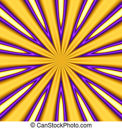 golden starburst - abstract golden starburst background -...