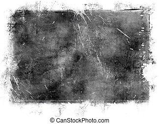Framed background - Framed grunge background