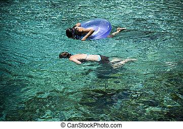 Tubérculos, Snorkeling