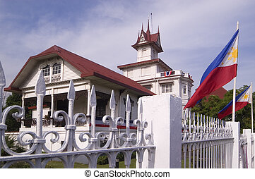 Aguinaldo Shrine - Place where Philippine independence was...