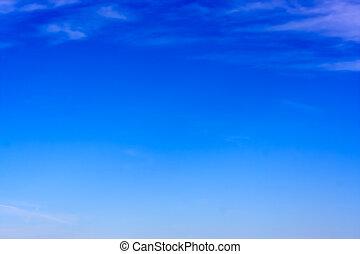 Clear Sky - A clear blue sky