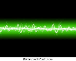 Energy Wave - A sound wave or energy wave  background