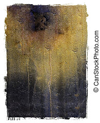 Textured metal background - Old rusted metal textured...