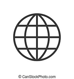 Globe - 2d globe pictogram