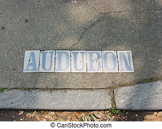 Audubon Sign
