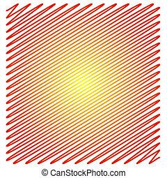 Diagonal lines - Diagonal scribble lines