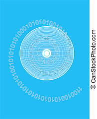 Binary CD - Binary data CD