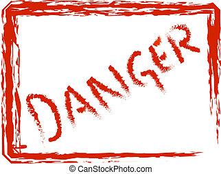 Danger - Framed danger