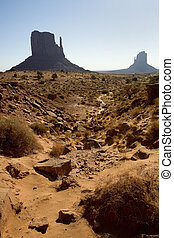 Monument Valley Rock Formations - Photograph of Monument...
