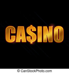 Gold Casino Logo - A cool casino logo
