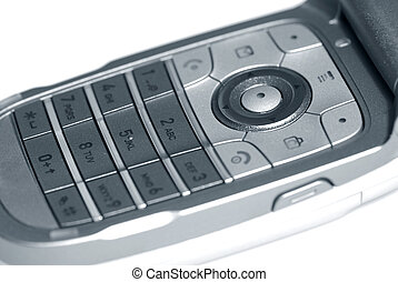 Cell phone - cell phone key pad