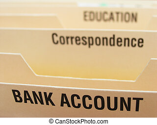 Account info - Folding file system with categories...
