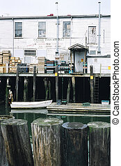 Portland, Maine - Harbor Fish Market in Portland, Maine