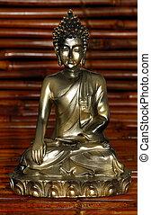 Budha - Ceramic Idol - Budha