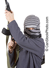 realístico, terrorista