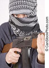 rosto, terrorista