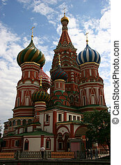St Basils Cathedral on the Red Square in Moscow, Russia