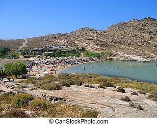 Monastiri Beach, Paros - Monastiri Beach in Paros, Greece