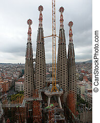 Sagrada Familia - DCF 1.0 Spain. Barcelona. Famouse Gaudies...