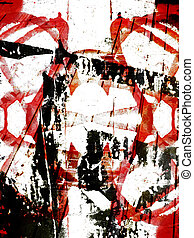 Grungy background - Abstract grungy background